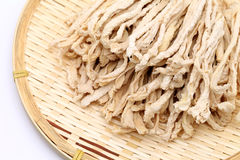 Dried white radish Royalty Free Stock Images