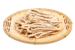 Dried white radish Stock Photos