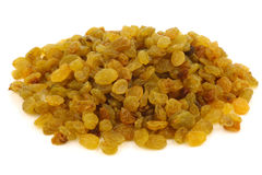 Dried white raisins Royalty Free Stock Photography