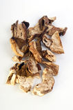 Dried wild organic porcini mushroom Stock Photos