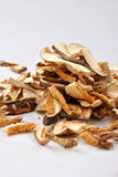 Dried wild organic porcini mushroom Royalty Free Stock Photography