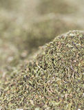Dried Winter Savory (background image) Stock Image