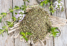 Dried Winter Savory Royalty Free Stock Photography