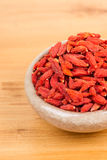Dried wolfberry fruits Royalty Free Stock Photography