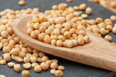 Dried yellow Peas Royalty Free Stock Images