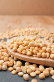 Dried yellow Peas Stock Image