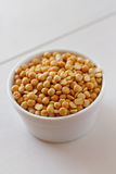 Dried yellow Peas Royalty Free Stock Photo