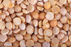 Dried yellow peas macro background Royalty Free Stock Image