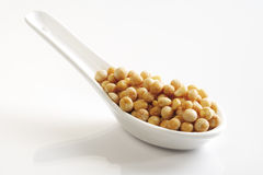 Dried yellow split peas Royalty Free Stock Photography