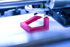 Driedimensionele drukmachine Stock Afbeeldingen