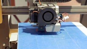 Driedimensionele plastic 3d printer Stock Afbeelding