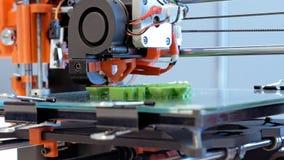 Driedimensionele plastic 3d printer Royalty-vrije Stock Foto