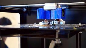 Driedimensionele plastic 3d printer Stock Foto's