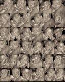 Driedimensionele sonogram Royalty-vrije Stock Afbeeldingen