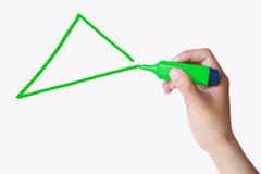 Driehoek stock afbeeldingen