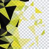 Driehoek en vierkant Stock Afbeelding