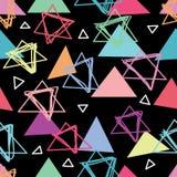 Driehoek hoe naadloos patroon kan doen royalty-vrije illustratie