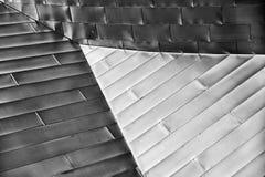 Driehoek in Moderne Architecturale Samenvatting Stock Fotografie