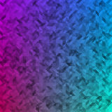 Driehoeken gekleurde abstracte achtergrond Stock Fotografie