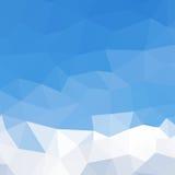 Driehoekenpatroon van geometrische vormen kleurrijk Stock Afbeelding
