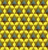 Driehoekig geometrisch naadloos patroon stock illustratie