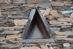Driehoekig gevormd leivenster Royalty-vrije Stock Fotografie