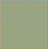 Driehoekig groen patroon Stock Foto's