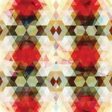 Driehoekig Mozaïek Kleurrijke BackgroundÂŒ Stock Foto's