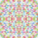 Driehoekig Mozaïek Kleurrijke BackgroundÂŒ Royalty-vrije Stock Foto's