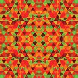 Driehoekig Mozaïek Kleurrijke BackgroundÂŒ Stock Fotografie