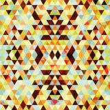 Driehoekig Mozaïek Kleurrijke BackgroundÂŒ Stock Afbeeldingen