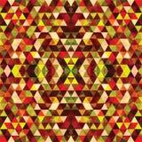 Driehoekig Mozaïek Kleurrijke BackgroundÂŒ Royalty-vrije Stock Afbeelding