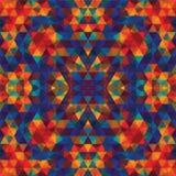 Driehoekig Mozaïek Kleurrijke BackgroundÂŒ Royalty-vrije Stock Fotografie