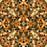 Driehoekig Mozaïek Kleurrijke BackgroundÂŒ Stock Foto