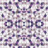 Driehoekig Mozaïek Purpere BackgroundÂŒ Royalty-vrije Stock Afbeeldingen