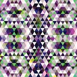 Driehoekig Mozaïek Purpere BackgroundÂŒ Royalty-vrije Stock Fotografie