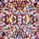Driehoekig Mozaïek Purpere BackgroundÂŒ Royalty-vrije Stock Afbeelding
