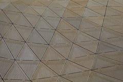 Driehoekig patroon Royalty-vrije Stock Afbeeldingen