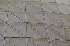 Driehoekig patroon Royalty-vrije Stock Foto