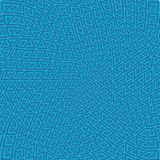 Driehoekig patroon binnen een colourfullgebied Royalty-vrije Illustratie