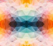 Driehoekige abstracte achtergrond Royalty-vrije Stock Afbeeldingen
