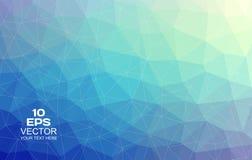 Driehoekige abstracte achtergrond Vector Illustratie