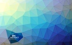 Driehoekige abstracte achtergrond Royalty-vrije Illustratie