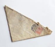 Driehoekige brief stock afbeelding