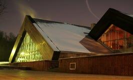 Driehoekige gebouwen royalty-vrije stock foto