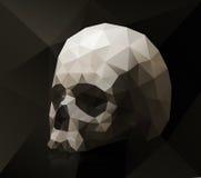 Driehoekige schedel Royalty-vrije Stock Afbeeldingen