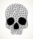 Driehoekige schedel Royalty-vrije Stock Afbeelding