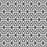 Driehoekige tegel geometrisch naadloos patroon stock illustratie