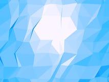Driehoekige vectorachtergrond vector illustratie