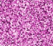 Driehoeks abstract naadloos patroon Vector illustratie als achtergrond Laag-poly driehoekige stijlillustratie Stock Afbeeldingen